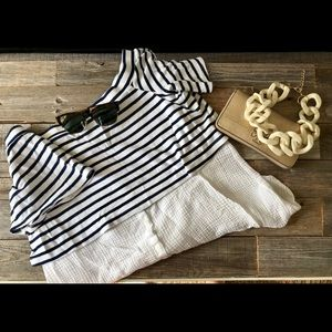 Anthropologie two tier shirt